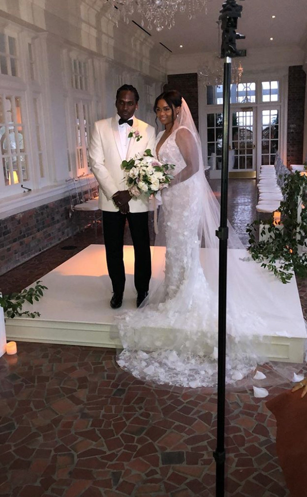 Pusha T, Virginia Williams, Wedding